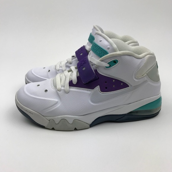 Nike Other - Nike Air Force Max 555105-101 Hornets Barkley